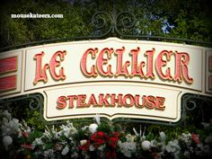 Le Cellier Steakhouse at EPCOT, Disney World, FL
