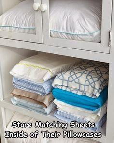organize closet diy, organizing closet diy, closet organizing tips, linen storage, diy closet organization ideas, diy closets ideas, linen closets, match sheet, closet organization tips