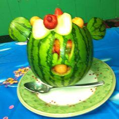 Watermelon Minnie Fruit Salad