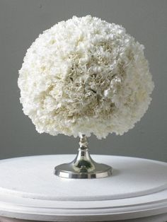 Such a fun and frilly centerpiece idea!