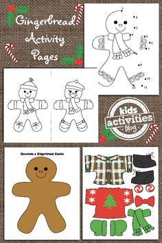 printable for kids, man printabl, craft, kid activities, christma activ, free gingerbread, activ blog, gingerbread man, gingerbread activ