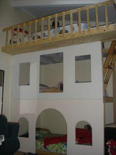 Three bunk beds, Bedzilla
