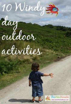 windy outdoor activities