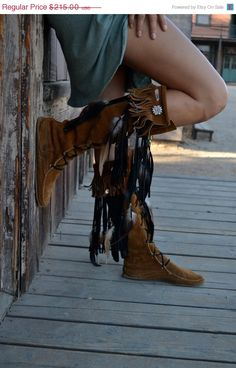 LOVE these moccasin boots!