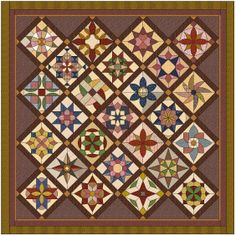 2013 - 2014 Country Rose BOM Quilt