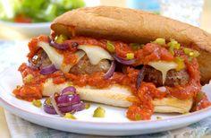 Mezzetta Kicked Up Turkey Meatball Sandwich