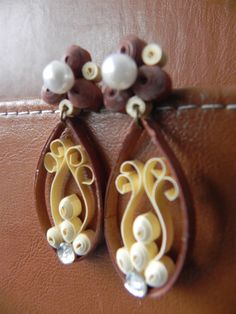 Earring - Quilling Cafe