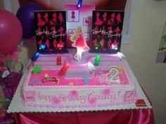birthday cake BARBIE FASHION FAIRYTALE theme