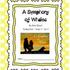 A Symphony of Whales CCSS Comprehension Booklet Reading Street Unit 3  This is a student booklet for students to use with the story A Symphony of W...