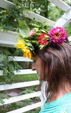 Make Floral Crowns 4 Ways