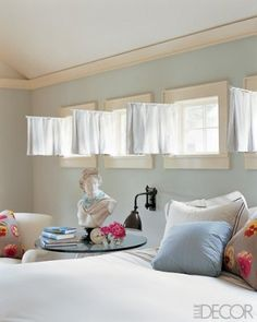 Window treatments - basements on Pinterest