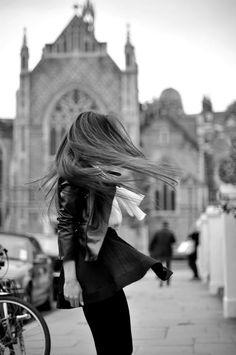 Wind Swept Girl