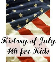 4th of july history for preschoolers