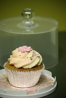 Pretty Cupcake & the Converted CD spindle