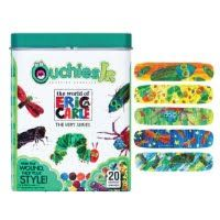Eric Carle Bandages The Very Series- Ouchies Jr. Bandages are a stylish way to protect cuts and scratches. While the colorful designs spark kids' imaginations, these adhesive bandages safeguard them from infections. Box of 20 trendy and colorful bandages.