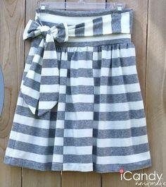 Hopscotch Skirt Tutorial by Jen &  iCandy
