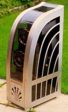 A Beautiful Art Deco Custom Computer Case