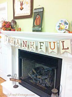 Thankful Banner / Bunting