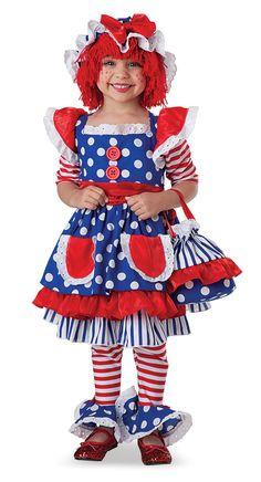 disfraz de muñeca