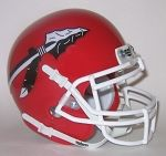 Gustine Redskins 2008 Schutt Mini Helmet - Gustine, CA
