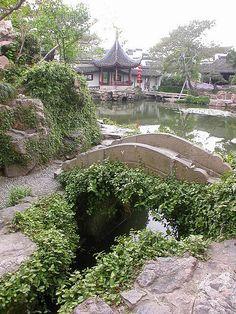 garden in Suzhou, China