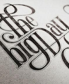 50s typography #design