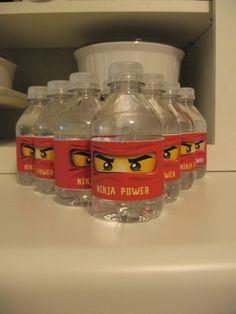 Ninja Power Mini Water Bottles