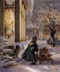 Snowy scene