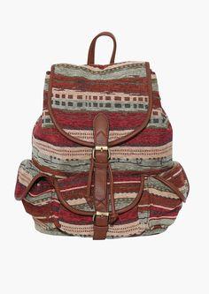 Arizona Dream Backpack in Brown//