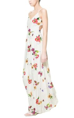 This dress from Zara is so fresh and breezy, perfect for summer.