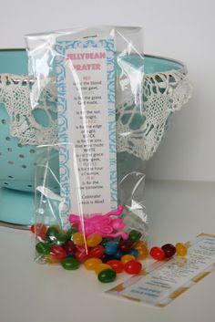 Easter treat bags for Sunday School ~ knittybitties.blo...