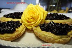 Vegan Vanilla Warriors Hearts cheesecakes with by VEGANLOTUS, $20.00
