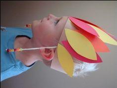 paper crafts, preschool, american crafts, hat