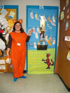 Fox in Socks Dr. Seuss costume for Book Character Day