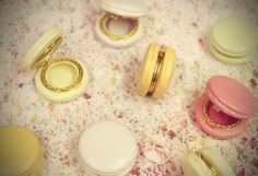 Macaron Trinkets.  Love these!