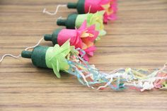 DIY Party Poppers