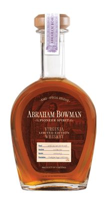 Abraham Bowman Gingerbread Beer finished whiskey