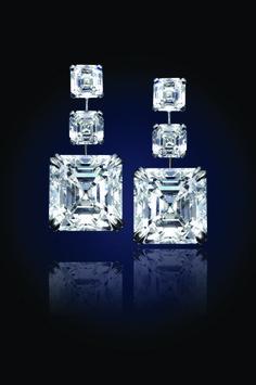 24.81 Carat Asscher-cut Diamonds