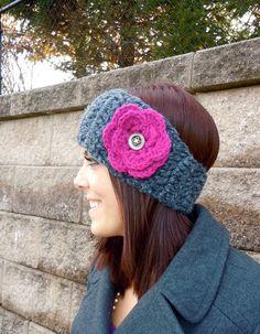 Earwarmer Headband Crochet Pattern