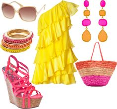 Pink Lemonade, created by saratoeppler on Polyvore