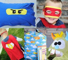 25+ Things to Sew for boys - Crazy Little Projects