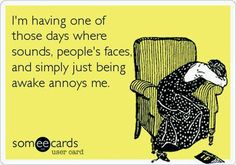 This is me every day lately...