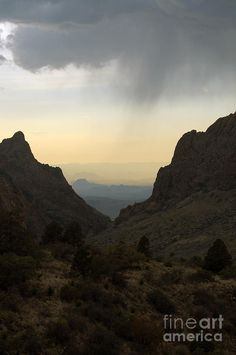 The Window at Sunset in Chisos Mountains of Big Bend National Park, Texas; photo by Shawn O'Brien