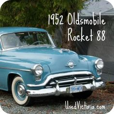A real Rocket 88! 1952 and in immaculate condition. #classiccars