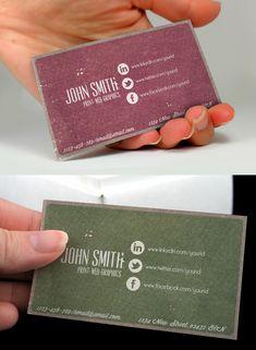 Social Vintage Business Card - Business Cards - Creattica