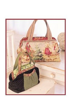 The Carpetbag sewing pattern - IJ711 from IndygoJunction.com