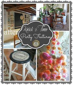 Vintage & Antique Decor link party @ Knick of Time ~~~ knickoftimeinteriors.blogspot.com