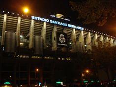 The Real Madrid Stadium #EstadioSantiago #Madrid, #Spain #andreacatsicas