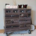 recycled furniture dresser