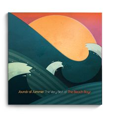 sounds of summer cd packaging by josé guizar